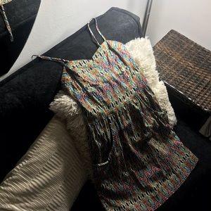 Spaghetti strap dress with pockets